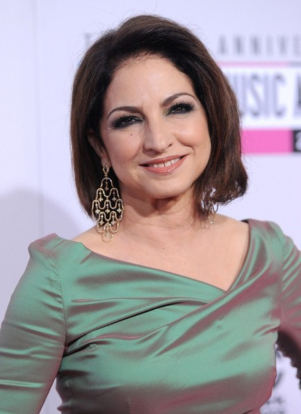 Gloria Estefan's Sophisticated Hairstyle
