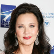 Lynda Carter's Half-Up Hairstyle
