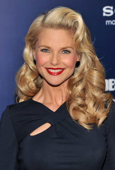 Christie Brinkley's Full Curls