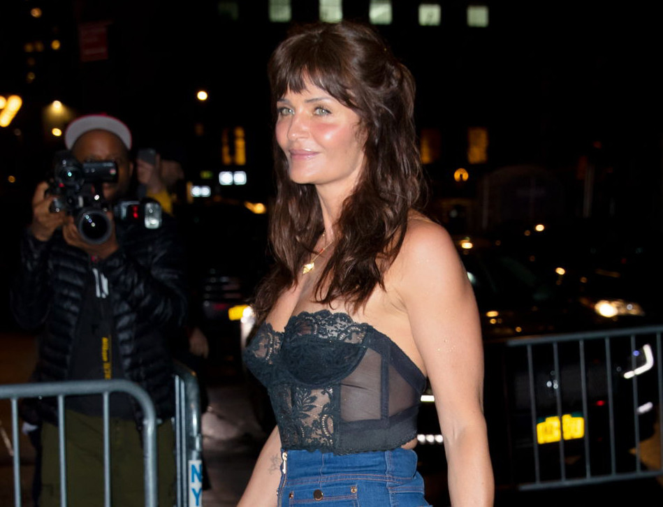 Helena Christensen Proudly Shows Off Her Hot, Over-50 Beach Bod