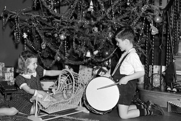 What Christmas Trees Looked Like When We Were Kids
