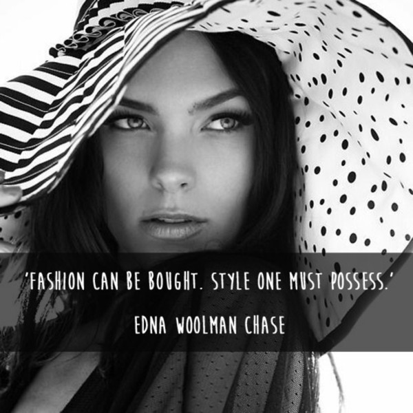 Edna Woolman Chase Quote