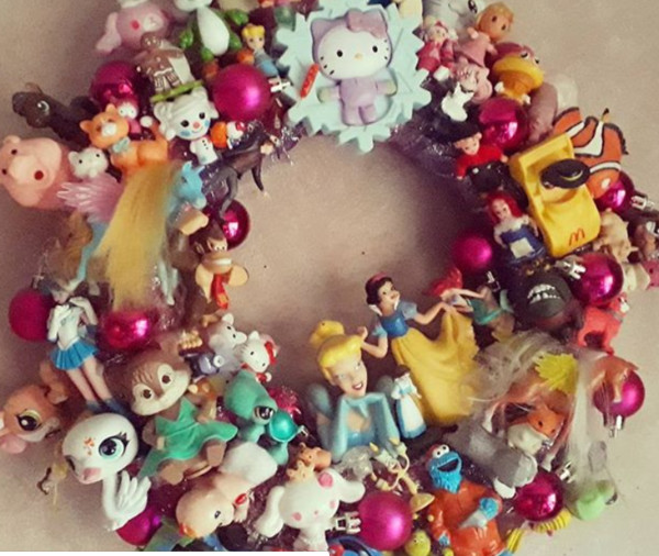 Use Old Toys To Make Decorations
