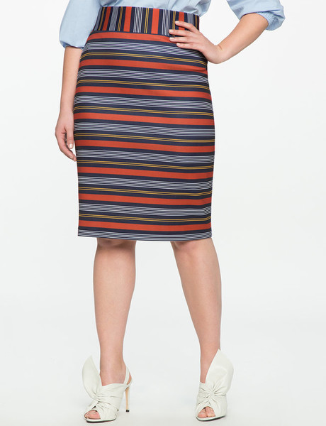 A Playful Pencil Skirt