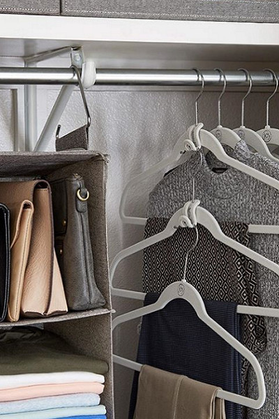 Treat Yourself To Fancy Hangers