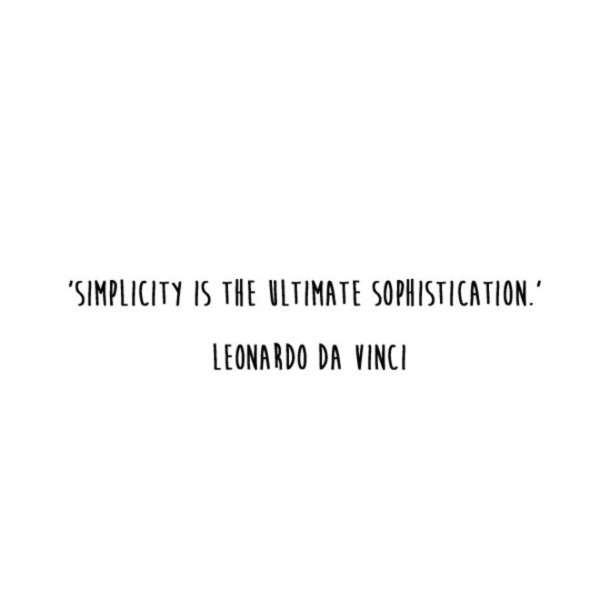 'Ultimate Sophistication' Quote
