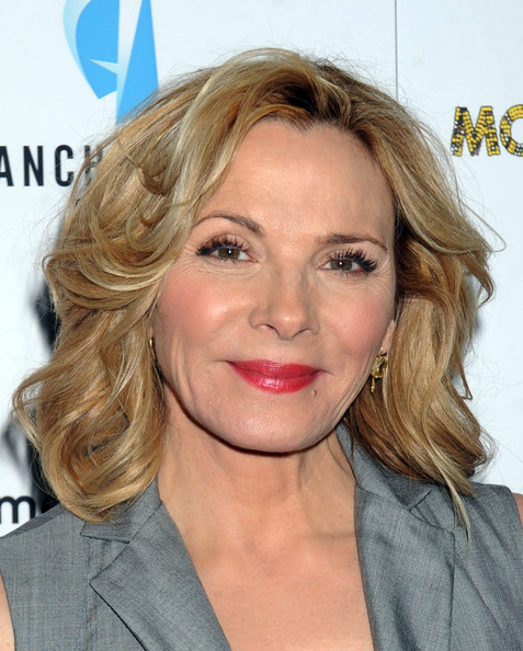 Kim Cattrall's Loose Curls